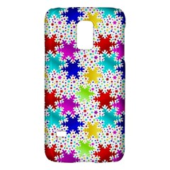 Snowflake Pattern Repeated Galaxy S5 Mini