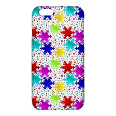 Snowflake Pattern Repeated iPhone 6/6S TPU Case