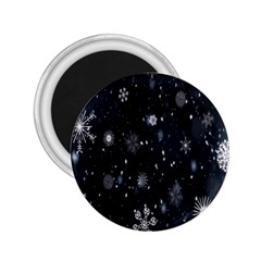 Snowflake Snow Snowing Winter Cold 2.25  Magnets