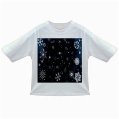Snowflake Snow Snowing Winter Cold Infant/toddler T Shirts