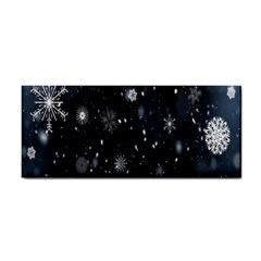 Snowflake Snow Snowing Winter Cold Cosmetic Storage Cases