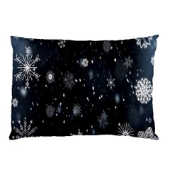 Snowflake Snow Snowing Winter Cold Pillow Case