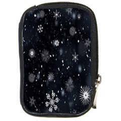 Snowflake Snow Snowing Winter Cold Compact Camera Cases
