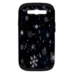Snowflake Snow Snowing Winter Cold Samsung Galaxy S Iii Hardshell Case (pc+silicone)