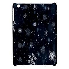 Snowflake Snow Snowing Winter Cold Apple Ipad Mini Hardshell Case