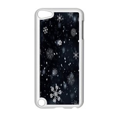 Snowflake Snow Snowing Winter Cold Apple Ipod Touch 5 Case (white)