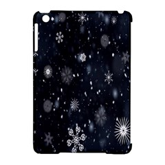 Snowflake Snow Snowing Winter Cold Apple iPad Mini Hardshell Case (Compatible with Smart Cover)