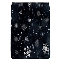 Snowflake Snow Snowing Winter Cold Flap Covers (s)