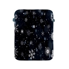 Snowflake Snow Snowing Winter Cold Apple Ipad 2/3/4 Protective Soft Cases