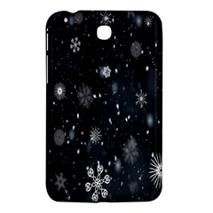 Snowflake Snow Snowing Winter Cold Samsung Galaxy Tab 3 (7 ) P3200 Hardshell Case
