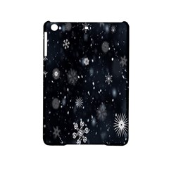 Snowflake Snow Snowing Winter Cold Ipad Mini 2 Hardshell Cases