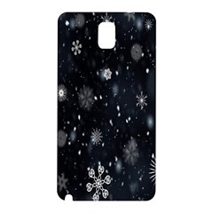 Snowflake Snow Snowing Winter Cold Samsung Galaxy Note 3 N9005 Hardshell Back Case