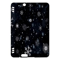 Snowflake Snow Snowing Winter Cold Kindle Fire HDX Hardshell Case