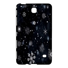 Snowflake Snow Snowing Winter Cold Samsung Galaxy Tab 4 (7 ) Hardshell Case