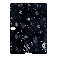 Snowflake Snow Snowing Winter Cold Samsung Galaxy Tab S (10 5 ) Hardshell Case