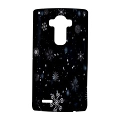 Snowflake Snow Snowing Winter Cold LG G4 Hardshell Case