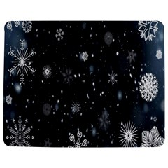 Snowflake Snow Snowing Winter Cold Jigsaw Puzzle Photo Stand (rectangular)