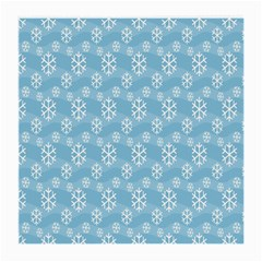 Snowflakes Winter Christmas Medium Glasses Cloth