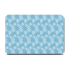 Snowflakes Winter Christmas Small Doormat