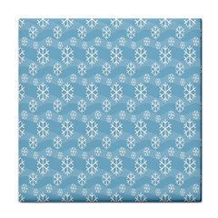 Snowflakes Winter Christmas Face Towel