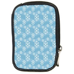 Snowflakes Winter Christmas Compact Camera Cases