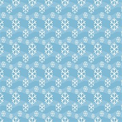 Snowflakes Winter Christmas Magic Photo Cubes