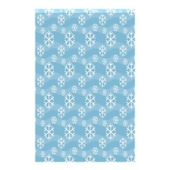 Snowflakes Winter Christmas Shower Curtain 48  x 72  (Small)