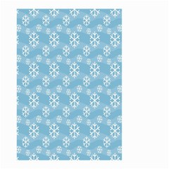 Snowflakes Winter Christmas Small Garden Flag (Two Sides)
