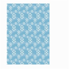 Snowflakes Winter Christmas Large Garden Flag (Two Sides)