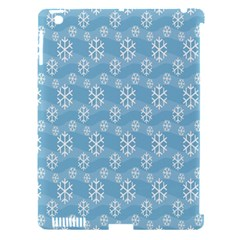 Snowflakes Winter Christmas Apple iPad 3/4 Hardshell Case (Compatible with Smart Cover)
