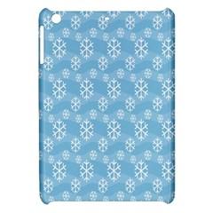 Snowflakes Winter Christmas Apple Ipad Mini Hardshell Case