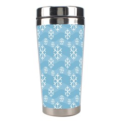 Snowflakes Winter Christmas Stainless Steel Travel Tumblers