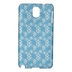 Snowflakes Winter Christmas Samsung Galaxy Note 3 N9005 Hardshell Case