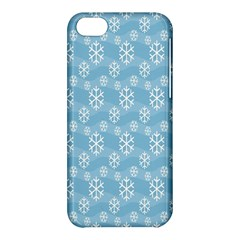 Snowflakes Winter Christmas Apple Iphone 5c Hardshell Case