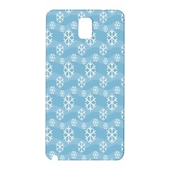 Snowflakes Winter Christmas Samsung Galaxy Note 3 N9005 Hardshell Back Case