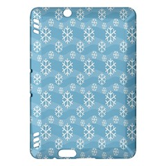 Snowflakes Winter Christmas Kindle Fire Hdx Hardshell Case