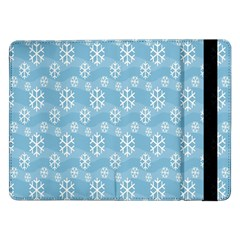 Snowflakes Winter Christmas Samsung Galaxy Tab Pro 12 2  Flip Case