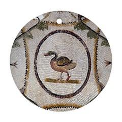 Sousse Mosaic Xenia Patterns Ornament (Round)
