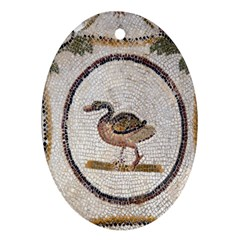 Sousse Mosaic Xenia Patterns Ornament (Oval)