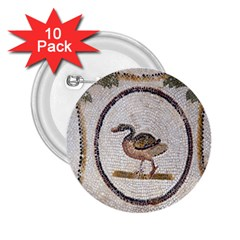 Sousse Mosaic Xenia Patterns 2.25  Buttons (10 pack)