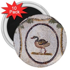 Sousse Mosaic Xenia Patterns 3  Magnets (10 pack)