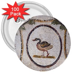 Sousse Mosaic Xenia Patterns 3  Buttons (100 pack)