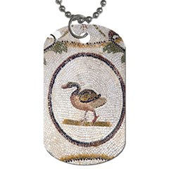 Sousse Mosaic Xenia Patterns Dog Tag (one Side)