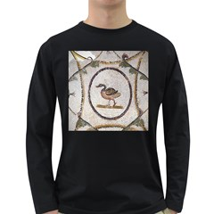 Sousse Mosaic Xenia Patterns Long Sleeve Dark T-Shirts