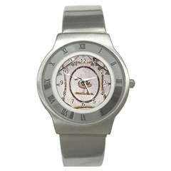 Sousse Mosaic Xenia Patterns Stainless Steel Watch