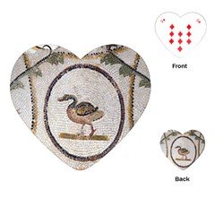 Sousse Mosaic Xenia Patterns Playing Cards (Heart)