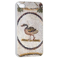 Sousse Mosaic Xenia Patterns Apple iPhone 4/4s Seamless Case (White)