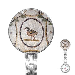 Sousse Mosaic Xenia Patterns Stainless Steel Nurses Watch