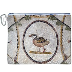 Sousse Mosaic Xenia Patterns Canvas Cosmetic Bag (xxxl)