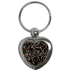 Spiders Colorful Key Chains (heart)